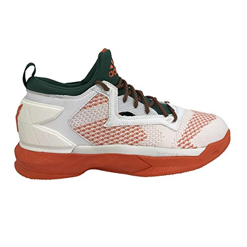 Footwear Core Green Shoes Basketball Lillard Men's Orange adidas 2 D White 8pqUOOP