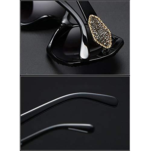 Big Personality Nouvelles Lunettes A Elegant de Female Des Femme Box soleil de rétro Tide Sport lunettes Soleil 1xnC6qAwCv