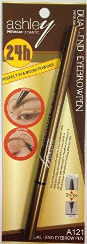 Ashley 24h Perfect Eyebrow Dual-end Eyebrow Pen -Deep Brown
