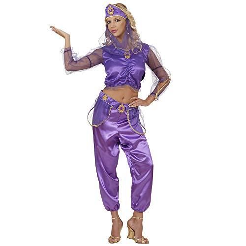 East Indian Halloween Costumes - Ladies Odalisque Purple Costume Small Uk