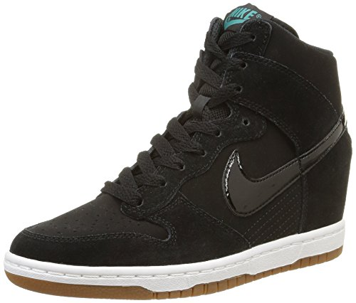 Gum Sail NIKE HI Med Black Essential Womens Brown Sky Shoes Wedge Dunk Black Fashion vEwqzvnPxr