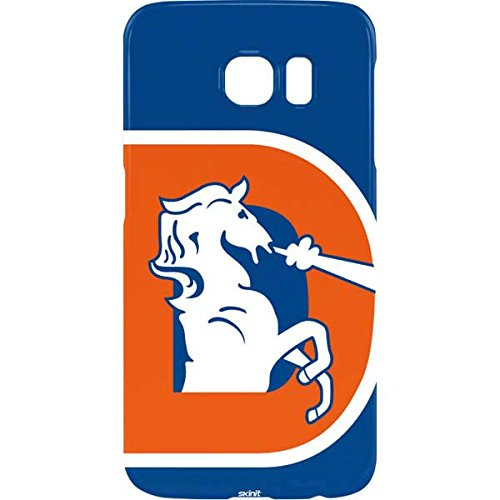 Nfl Logo Edge Light - Skinit NFL Denver Broncos Galaxy S7 Edge Lite Case - Denver Broncos Retro Logo Design - Ultra-Thin, Lightweight Phone Cover