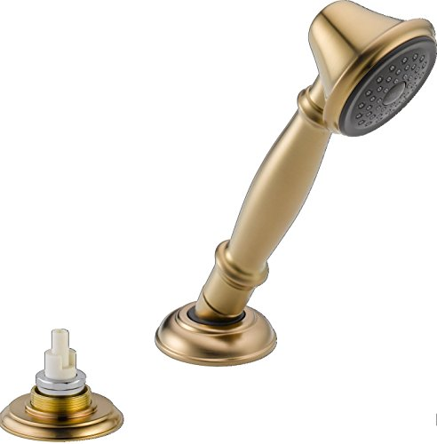 Delta Faucet RP33791CZLHP Victorian Roman Tub Hand Shower with Transfer Valve, Champagne ()