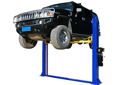 APlusLift HW-10KBP 10000LB Two Post Floor Plate Auto Hoist Car Lift / 12 Months Parts Warranty (Best Home Car Lift)