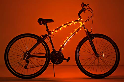 Brightz CosmicBrightz LED Bicycle Frame Light, Orange