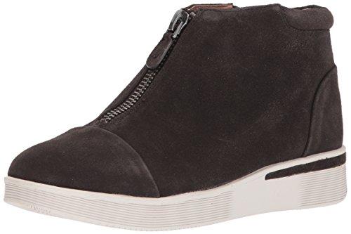 Gentle Souls Women's Hazel-Fay Platform Midtop Front Zip Sneaker, Asphault, 8.5 Medium US by Gentle Souls