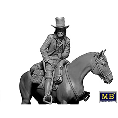 Master Box 35204-1/35 Gentleman Jim Jameson - Hired Gun. Gunslinger Series.: Toys & Games