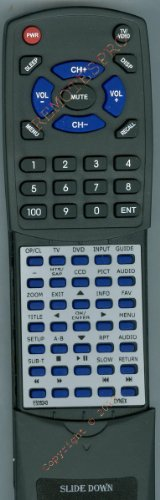 DYNEX Replacement Remote Control for DX19L150A11, DX26LD150A11, DX32LD150A11, ES06243