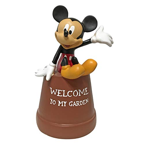 Mickey Mouse Key Hider Pot Diversion, Hand-Painted, Official Disney Licensed ()