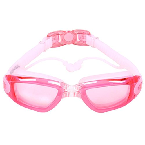 Price comparison product image Unisex Anti-fog Swimming Goggles, Lywey Men Women Adult Swimming Professional Glasses With Ear Plug,  Durable,  Clean Easily (Multicolor E)