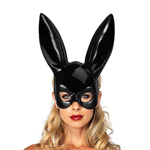 Women's Bunny Mask, Masquerade Rabbit Mask Halloween for sale  Delivered anywhere in Canada