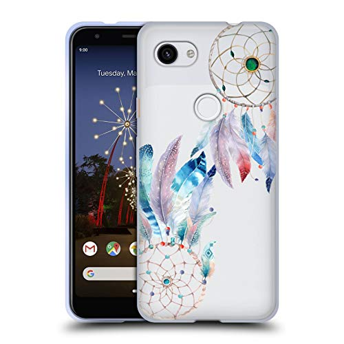 Official Kristina Kvilis Beads Dreamcatchers 2 Soft Gel Case Compatible for Google Pixel 3a