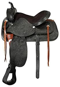 King Series Lancaster Trail Saddle 15 Black