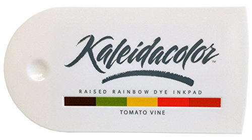 (Imagine Crafts Tsukineko 5-Color Kaleidacolor Ink Pad, Tomato Vine)