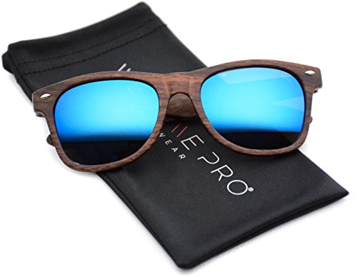 faux-wood-reflective-revo-color-lens-horn-rimmed-style-sunglasses