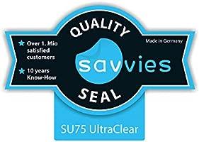 savvies Protector Pantalla Compatible con Willful Fitness Tracker SW016 (6 Unidades) Pelicula Ultra Transparente
