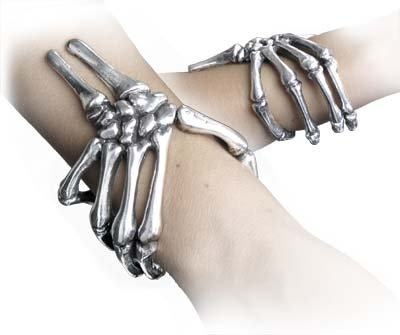 Curse of Ezekiel Skeleton Hand Bracelet