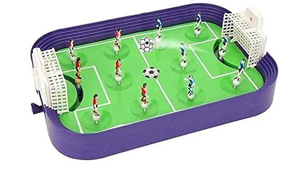 Piarner ABS mesa de plástico fútbol educativos del rompecabezas de juguete for el Deporte Partido juego interactivo for niños mesa de juguete de la diversión de fútbol del juguete mini portátil Futbol: