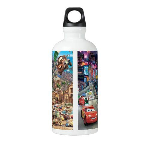 Travel Flask Stainless Steel Cycling Bottle Steel Bottle for Water Cars Water Bottle 18 Oz Outdoor Yoga Camping Hiking road-comedy Cars Sport Bottle