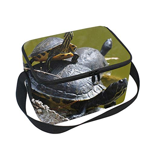 Turtlepile Portable Lunch Tote Bags Lunch Box Food Picnic Bags for Adults Men Women Kids