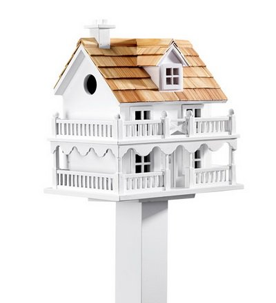 Plow & Hearth 11269 Outdoor Wooden Cape Cod Bird House by Plow & Hearth
