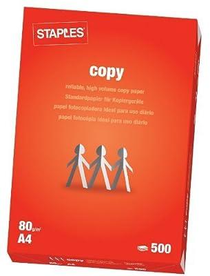 Staples Copy Paper, A4, White