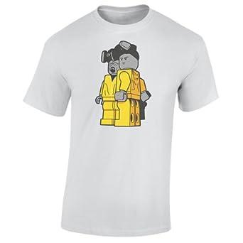 b788bebdd Breaking Bad Lego Walter & Jesse T-Shirt: Amazon.co.uk: Clothing