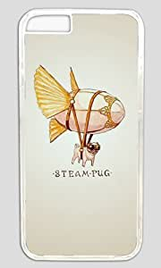Funny Steam Blimp Thanksgiving Halloween Masterpiece Limited Design PC Transparent Case for iphone 6 by Cases & Mousepads