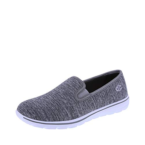 Champion Women's Grey Jersey Women's Rewind Slip-On 6 Regular