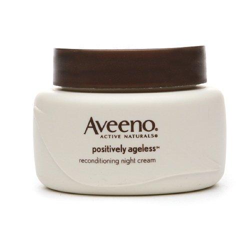 Aveeno Positively Ageless Reconditioning Night Cream 1.7 Fl