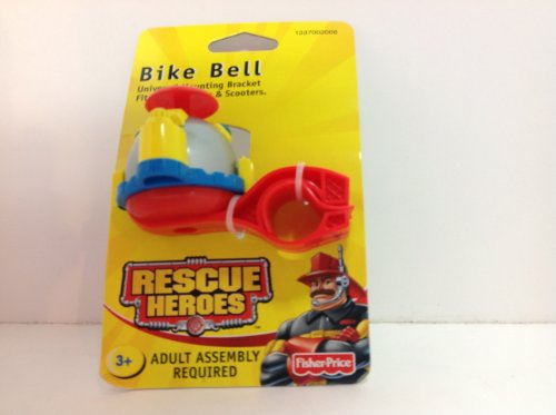 Fisher Price Rescue Heroes Bike Bell #1337002006 Year 2002