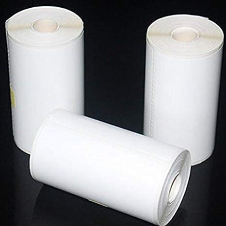 57X30Mm Papel adhesivo imprimible duradero Papel térmico directo ...