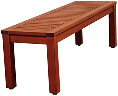 Amazon Com Achla Designs Curved Backless Bench Garden