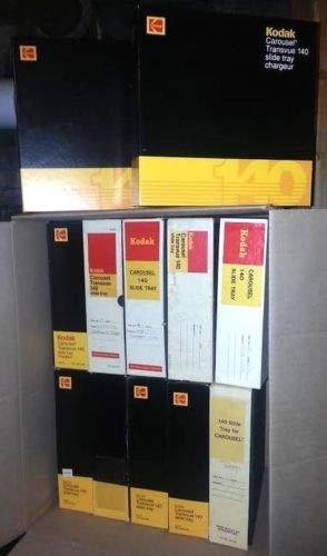 - Kodak B140T Carousel Transvue 140 Slide Tray - 12 Pack