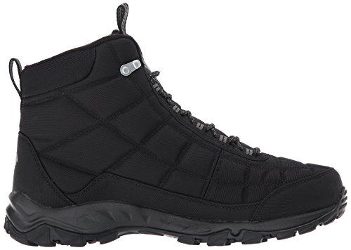 Columbia Shoe City Hiking Firecamp Men's Boot Grey Black rxaPqzrgwZ