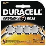 Duracell Lithium Medical Battery, 3V, 2032, 4/Pk