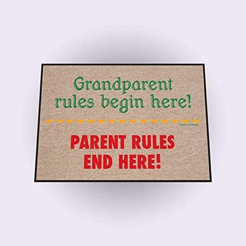 High Cotton Outdoor Mat, Grandparent Rules