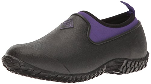 Womans Garden - Muckster ll Women's Rubber Garden Shoes,Black/Purple,11M US
