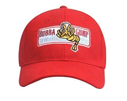 Forrest Gump Bubba Gump Shrimp Co Red Hat Baseball (Bubba Forrest Gump Costume)