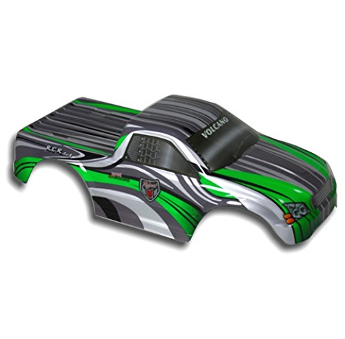 - Redcat Racing Truck Body Green and White (1/10 Scale)