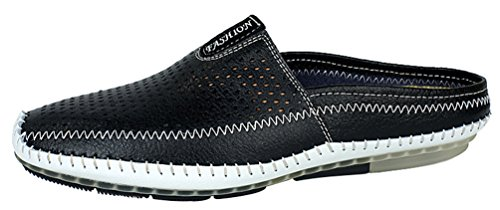 Breathable 7911 Leisure Salabobo Comfy QYY Stylish Shoes Black Mens Backless Walking 0UxATq6w