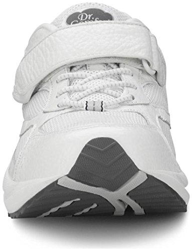 Dr. Comfort Men's Endurance White Diabetic Athletic Shoes