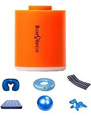 TiKiNi Draagbare luchtpomp, USB-oplaadbaar, mini-luchtpomp, waterdichte pomp voor luchtmatras, zwemringen, luchtcompressor vacuümpomp