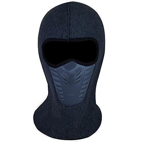 Balaclava Face Mask, Winter Fleece Windproof Ski Mask for Men and Women, Grey - Winter Balaclava