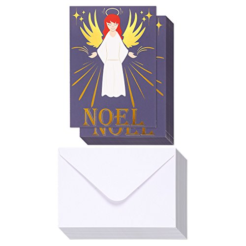 Merry Christmas Greeting Cards with Envelopes Included