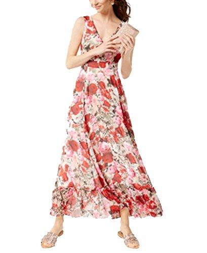INC International Concepts Floral-Print Maxi Dress (Mixed Floral, (Mixed Print Maxi Dress)