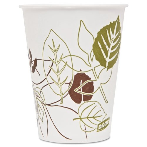 Dixie DXE9PPATH Pathways Polycoated Paper Cold Cups, 9 oz., 2400 Per Carton by Dixie