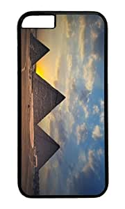 MOKSHOP Adorable giza necropolis egypt Hard Case Protective Shell Cell Phone Cover For Apple Iphone 6 (4.7 Inch) - PC Black