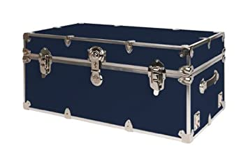 Exceptional Amazon.com: SecureOnCampus College Dorm Storage Trunks / Footlockers Large    Navy Blue: Kitchen U0026 Dining