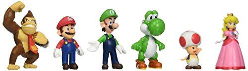 "OliaDesign Super Mario Brothers Figures Set (8 Piece), 1.5"" Small"